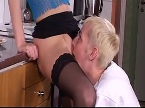 Blonde Scandinavian Amateur Teen Girl Gets Fucked In Kitchen
